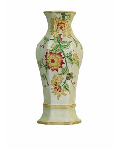 Port 68 Avairy Floral Half Vase