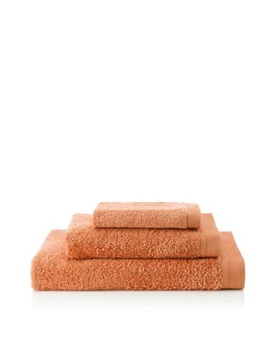 Portugal Home 3 Piece Towel Set, Terracota