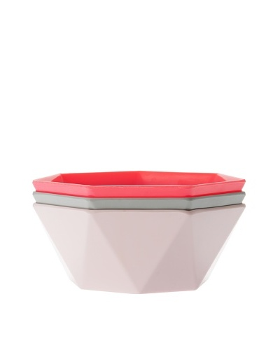 Present Time 3-Piece Melamine Salad Bowl Set