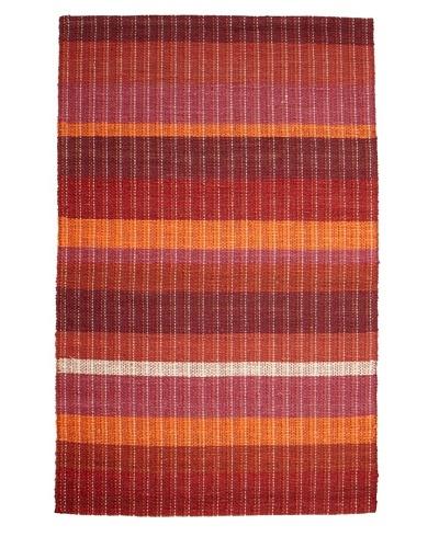 Classic Home Braided Stripe Sunrise Rug