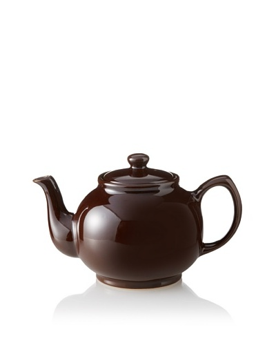 Price & Kensington 6-Cup Teapot with Infuser, Rockingham Brown