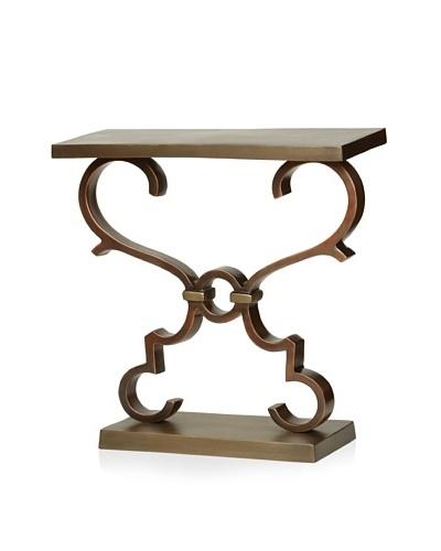 Prima Design Source Rectangular Table with Scrolls