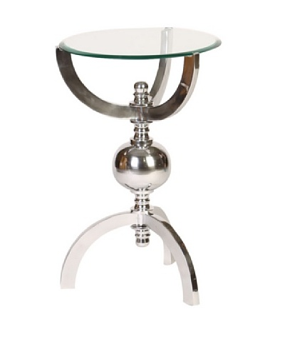 Prima Design Source Orb Table with Glass Top