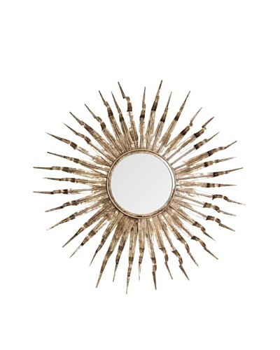 Prima Design Source Sunflower Mirror, Gold