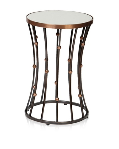 Prima Design Source Wire and Ball Accent Table, Copper