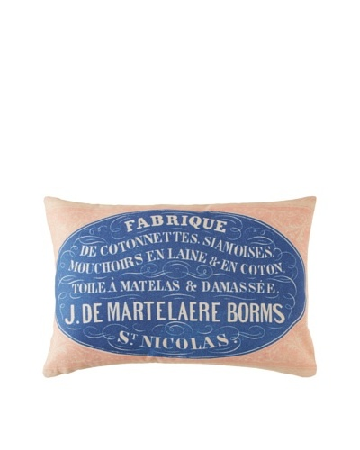Prints Charming Soho Belgian Toile Martelaire Borms Pillow