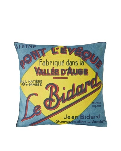 Prints Charming Soho Le Bidard Label Pillow