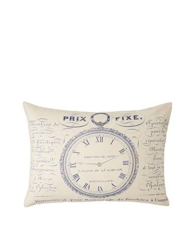 Prints Charming Soho Belgian Time Piece Pillow