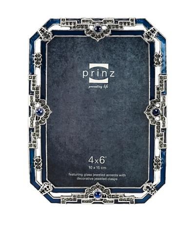Sophia Metal Jeweled Frame, 4 x 6