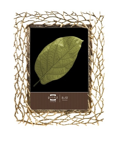 Prinz Whitman 8 x 10 Twigs Photo Frame, Gold
