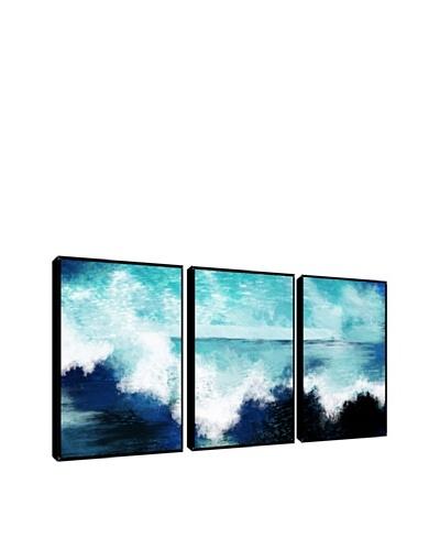 Ocean Waves Giclée Triptych Box