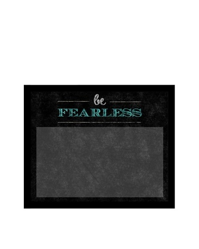 Be Fearless Memoboard, Black