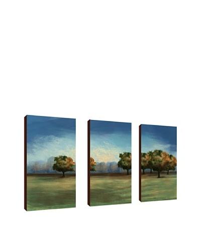 Treescape Giclée Triptych Canvas