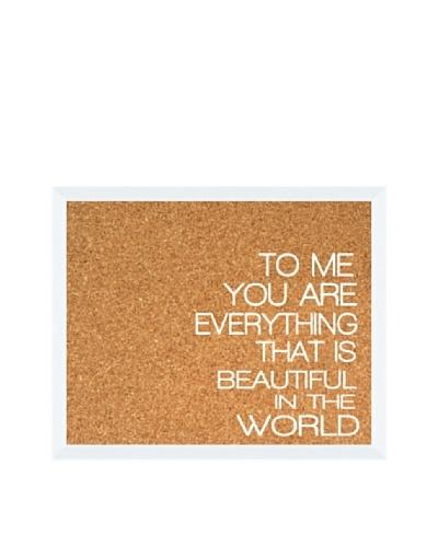 To Me... Corkboard