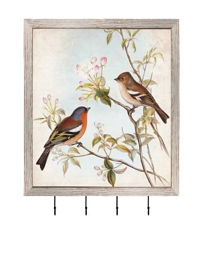 PTM Images Morning Birds Key/Jewelry Organizer, White