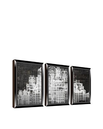 PTM Images Urban City Giclée Triptych Box