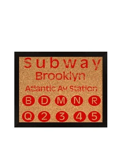 Subway Corkboard