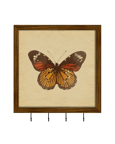 PTM Images Butterfly Key/Jewelry Organizer, Natural