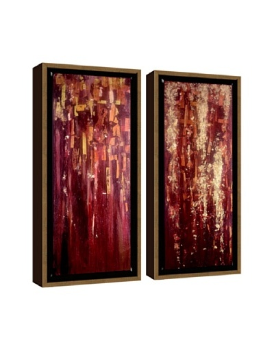 PTM Images Red Abstract Giclée Diptych Box