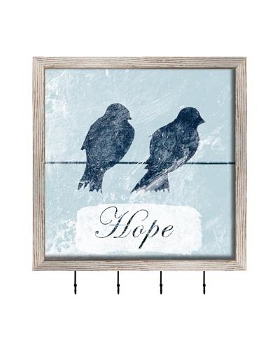 PTM Images Hope Key/Jewelry Organizer, White