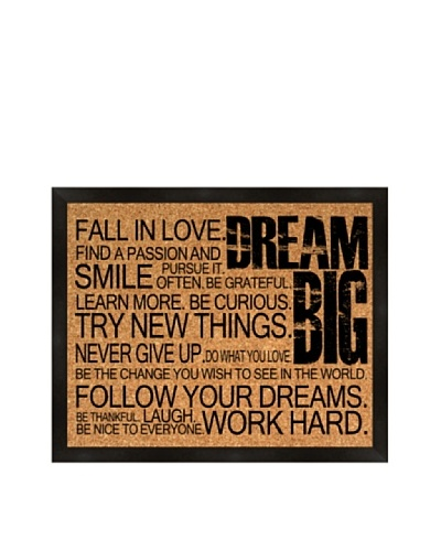 Dream Big Corkboard