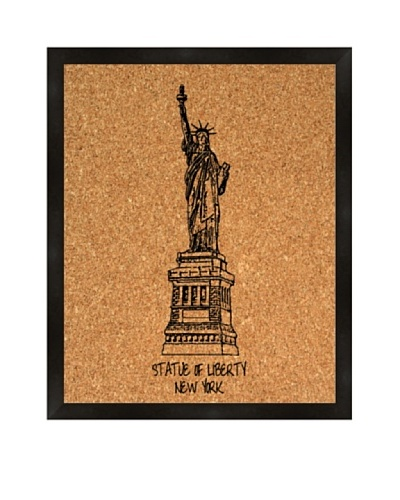 Statue of Liberty Corkboard