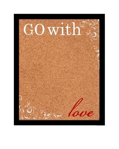 Go with Love Corkboard