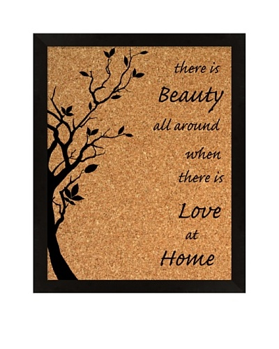 """Love Home"" Corkboard"