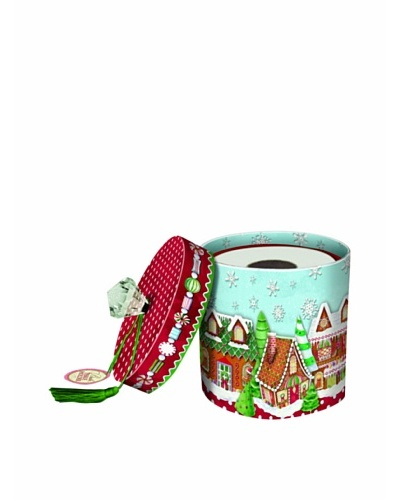 Punch Studio Set of 3 Toilet Tissue Holders [Gingerbread Houses]