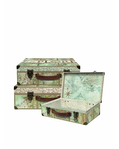 Punch Studio Explore Maps Nesting Valet Cases