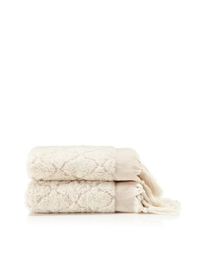 Pure Fiber Set of 2 Delight Hand Towels