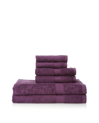 Pure Fiber 3-Piece Viscose from Bamboo Bath Towel Set, Purple
