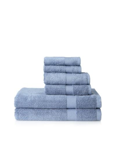 Pure Fiber 6-Piece Viscose from Bamboo Bath Towel Set, Midnight Blue