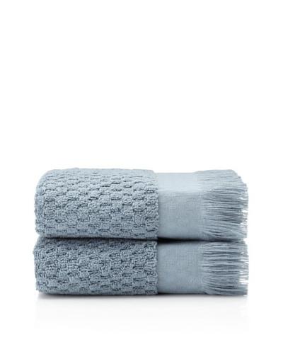 Pure Fiber Set of 2 Hottuck Hand Towels [Blue]