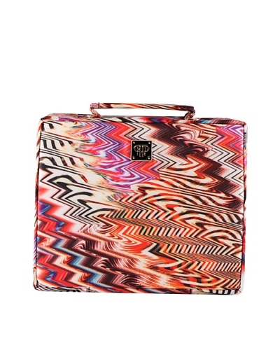 PurseN Extra Large Jewelry Case, Chevron Runway/BlackAs You See