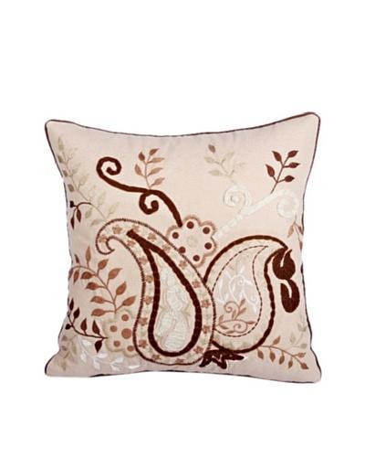 Purva Elegant Paisley Pillow