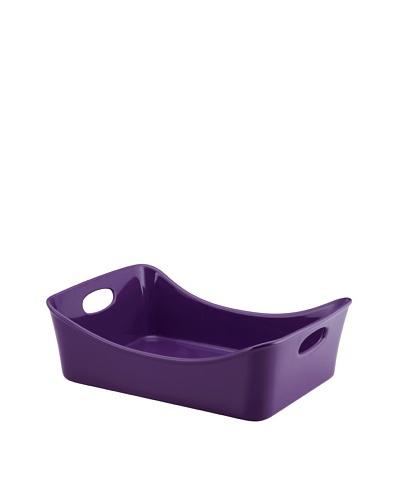 "Rachael Ray 9"" x 13"" Stoneware Rectangular Pans [Purple]"