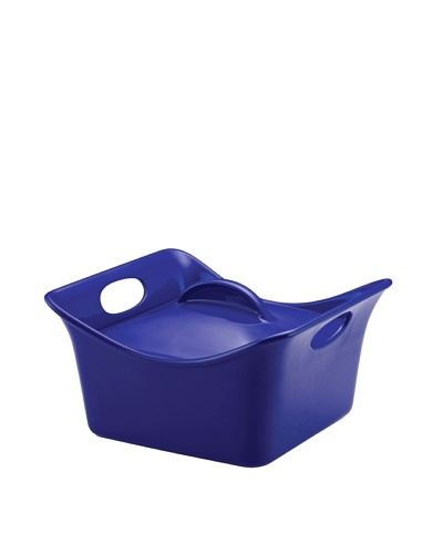 Rachael Ray Stoneware Covered Square Casserole Cassersquare [Blue]