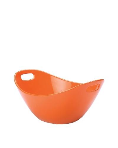 Rachael Ray Stoneware 15 Salad Bowl [Orange]
