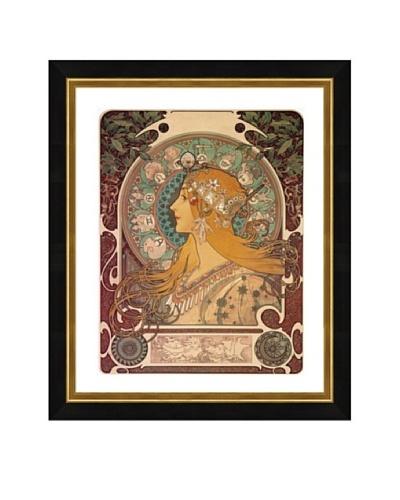 Alphonse Maria Mucha: Zodiac (Restrike)