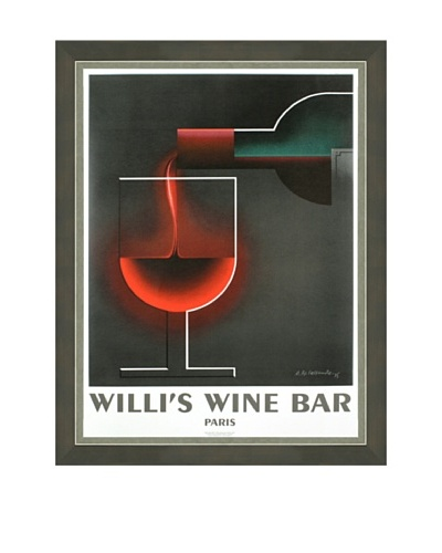A.M. Cassandre: Willi's Wine Bar