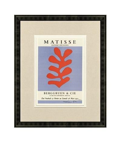 Henri Matisse: Berggruen & Cie, 1959