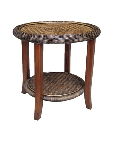 Rattan Living End Table, Natural