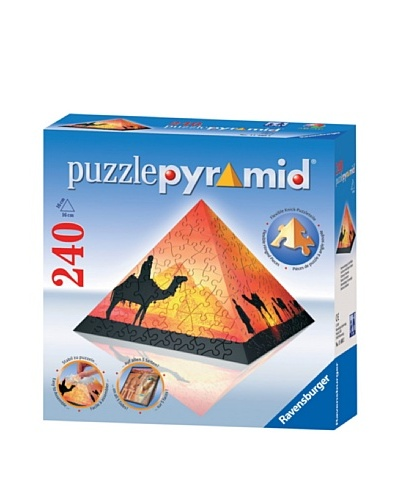 Ravensburger Sunset In The Desert 240 Piece Puzzle Pyramid