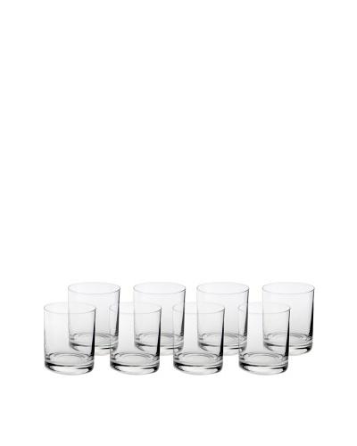 Ravenscroft Set of 8 Crystal 10-Oz. Double Old Fashion Glasses
