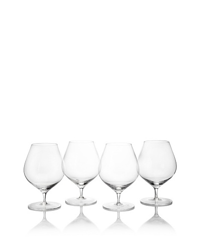 Ravenscroft Crystal Set of 4 Classic Traditional Congnac/Brandy Balloon Snifters