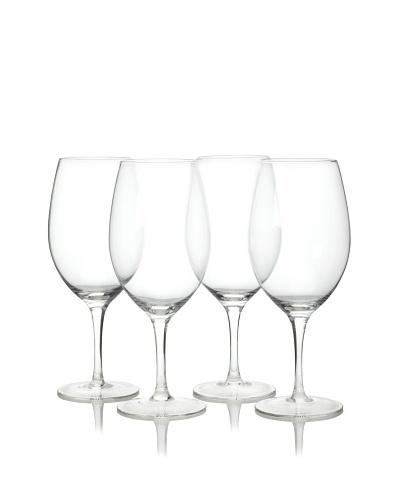 R. Croft by Ravenscroft Crystal Set of 4 Bordeaux Glasses, 22-Oz.