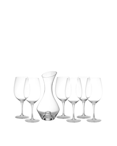 Ravenscroft Crystal RCroft Collection 7-Piece Deluxe Bordeaux Gift Set