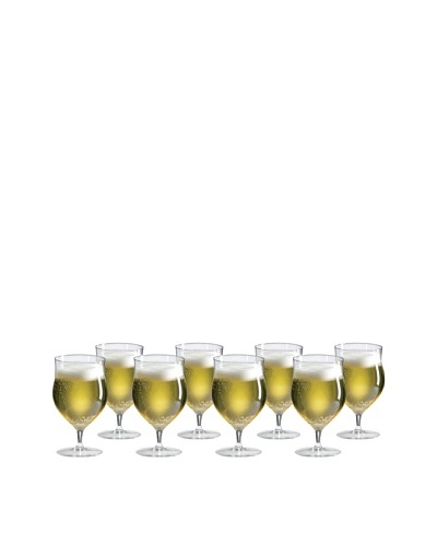 Ravenscroft Crystal RCroft Collection Set of 8 Belgian Beer Glasses, 22-Oz.