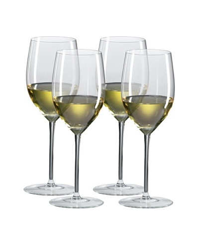 Ravenscroft Crystal Set of 4 Chardonnay/Mature Red Glasses, 14-Oz.